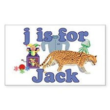 J is for Jack Decal