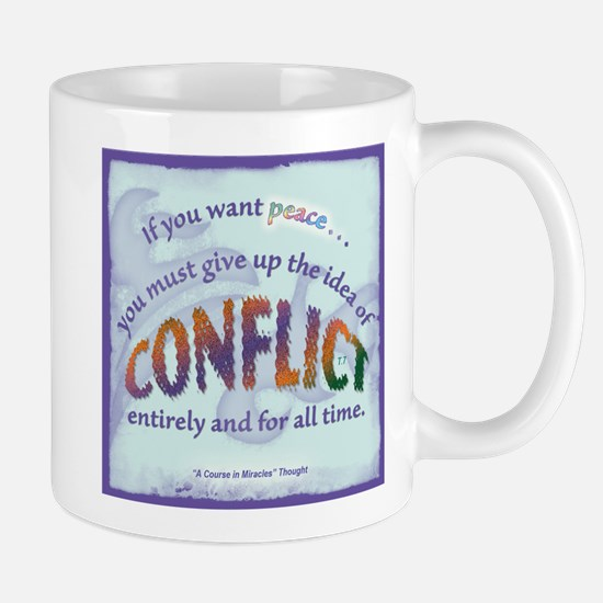ACIM-If You Want Peace Mug
