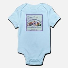 ACIM-If You Want Peace Infant Bodysuit