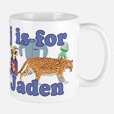 J is for Jaden Mug