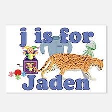 J is for Jaden Postcards (Package of 8)