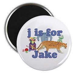 J is for Jake Magnet