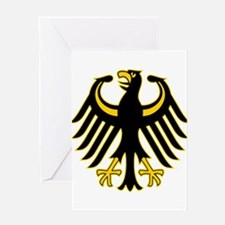 Retro German Eagle Greeting Card