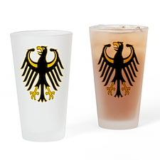 Retro German Eagle Drinking Glass