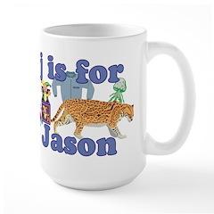 J is for Jason Mug