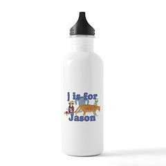 J is for Jason Water Bottle