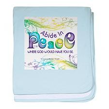 ACIM-Abide in Peace baby blanket