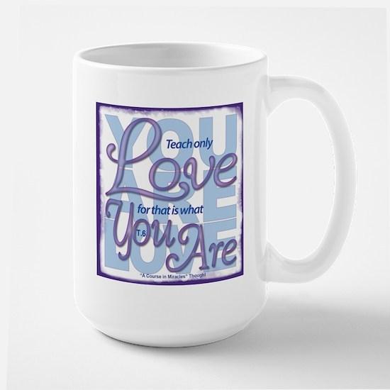 ACIM-You Are Love Large Mug