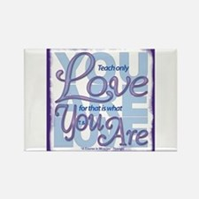 ACIM-You Are Love Rectangle Magnet