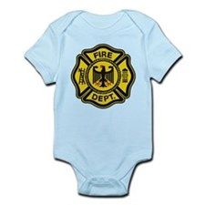 German Firemen Infant Bodysuit