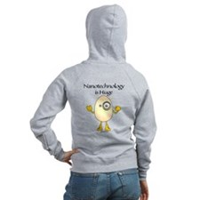 Nanotechnology Huge Zip Hoodie