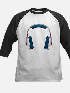 headphone Kids Baseball Jersey