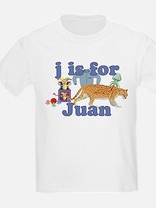 J is for Juan T-Shirt