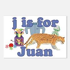 J is for Juan Postcards (Package of 8)