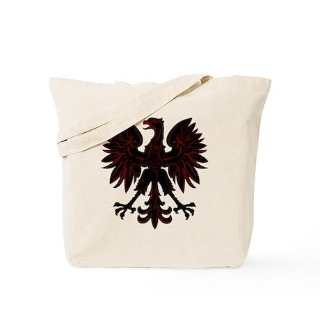 Polish Eagle red and black Tote Bag