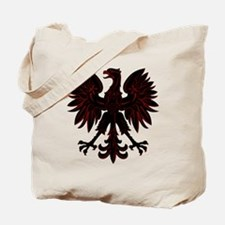 Polish Eagle red and black Tote Bag