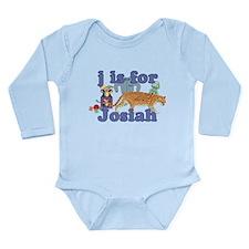 J is for Josiah Long Sleeve Infant Bodysuit
