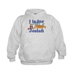 J is for Josiah Hoodie