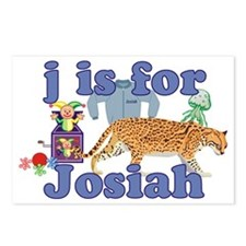 J is for Josiah Postcards (Package of 8)