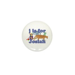 J is for Josiah Mini Button (10 pack)