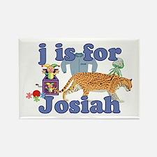 J is for Josiah Rectangle Magnet