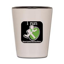 I Run Cancer Awareness Shot Glass