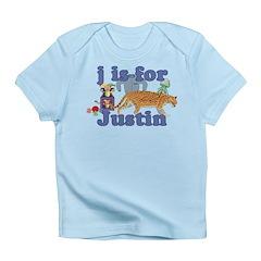 J is for Justin Infant T-Shirt