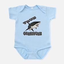 True Carnivore Infant Bodysuit