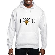 I Love You (Bee) Hoodie