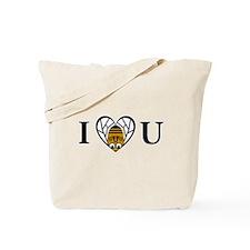 I Love You (Bee) Tote Bag