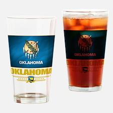 Oklahoma Pride Drinking Glass