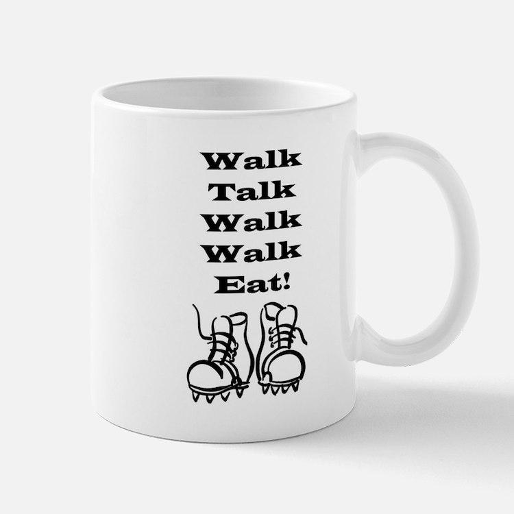 New Walk, Talk, Eat Mug