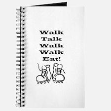 New Walk, Talk, Eat Journal