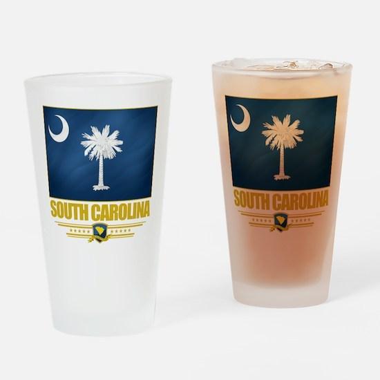 South Carolina Pride Drinking Glass