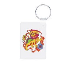 Foo Dog Tattoo Keychains