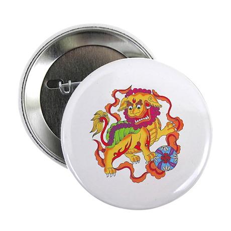 "Foo Dog Tattoo 2.25"" Button (100 pack)"