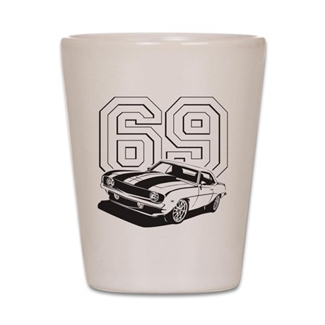 '69 Camaro Shot Glass