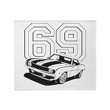 '69 Camaro Throw Blanket