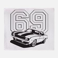 '69 Camaro Throw Blanket