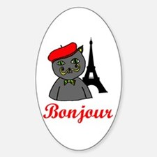 Bonjour Paris Decal