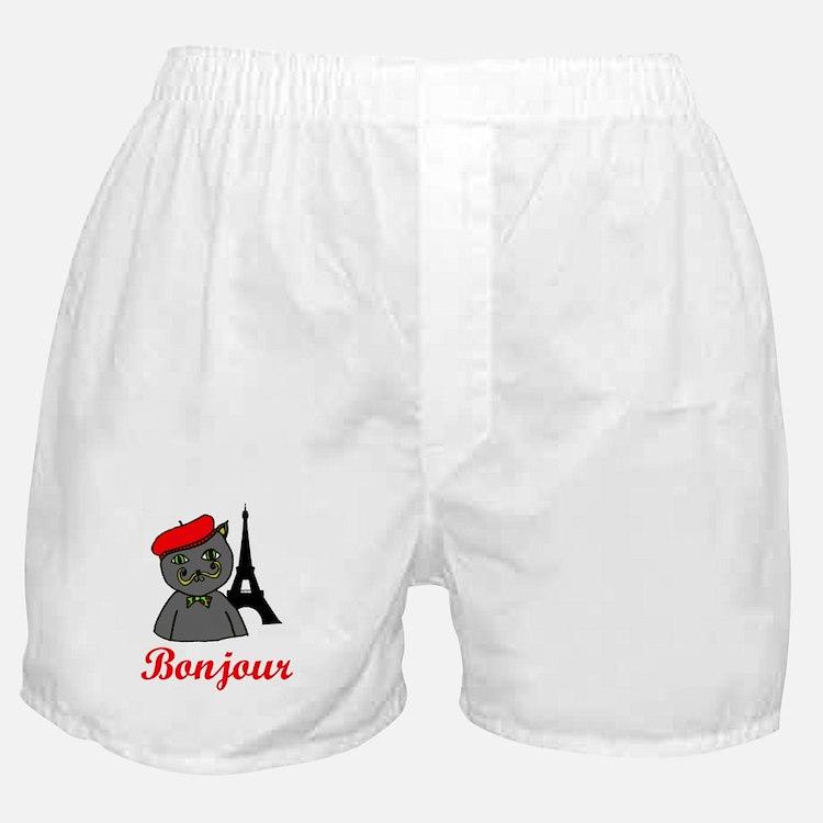 Bonjour Paris Boxer Shorts
