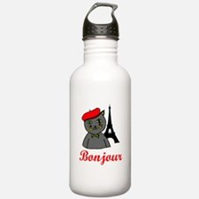 Bonjour Paris Water Bottle