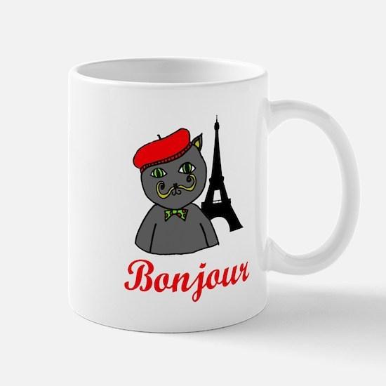 Bonjour Paris Mug