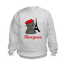 Bonjour Paris Sweatshirt