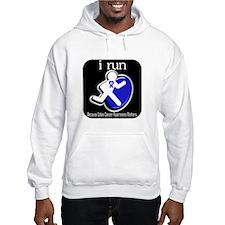 I Run Cancer Awareness Hoodie