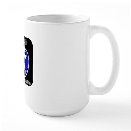 I Run Cancer Awareness Large Mug