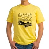 1932 ford Mens Yellow T-shirts