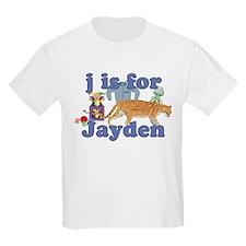 J is for Jayden T-Shirt