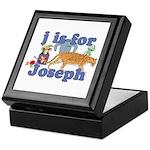 J is for Joseph Keepsake Box