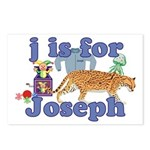 J is for Joseph Postcards (Package of 8)